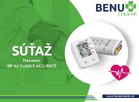 Súťaž o digitálny tlakomer Microlife BP A2 Classic Accurate
