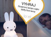 Súťaž o dizajnovú lampu zajko Miffy first lamp