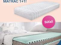 Súťaž o dva komfortné penové matrace Master