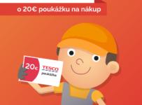 Súťaž o poukážky na nákup v obchodoch Tesco