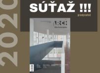 Súťaž o predplatné časopisu ARCH na rok 2020