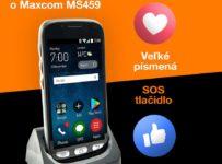 Súťaž o telefón Maxcom MS459