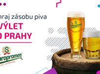 Súťaž o zásobu piva a a víkendový pobyt v Prahe pre 2 osoby