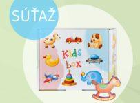 Vyhrajte nový detský dm box plný výrobkov pre detičky