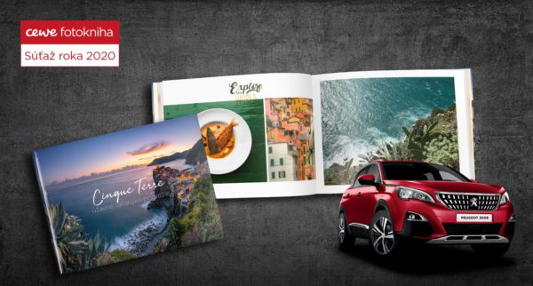 Vyhrajte so svojou CEWE FOTOKNIHOU Peugeot 3008 a ďalšie ceny