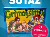 Vyhrajte spoločenskú hru GRIMASSIMIX