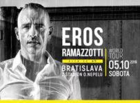 Súťaž o 2 lístky na koncert Erosa Ramazzottiho