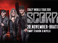 Súťaž o dve vstupenky na koncert rockovej kapely SCORPIONS