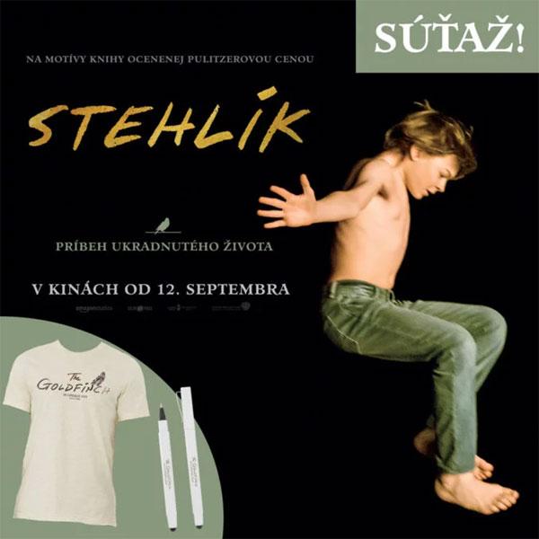 Súťaž s filmom Stehlík