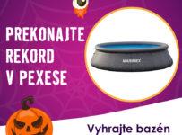 Halloweenská súťaž o bazén Tampa Ratan a zľavy na nákup