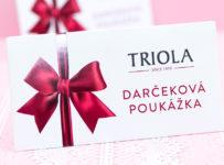 Súťaž o 20 eurovú poukážku Triola