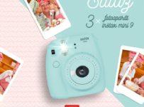 Súťaž o 3x fotoaparát Instax mini9