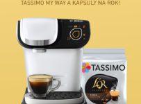 Súťaž o 3x kávovar Tassimo My Way a kapsuly na rok