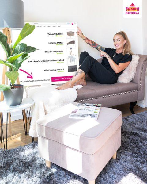 Súťaž o 4x obývačkový taburet RUFINO