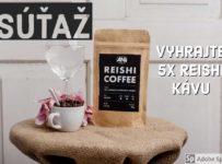 Súťaž o 5 balíčkov Reishi kávy