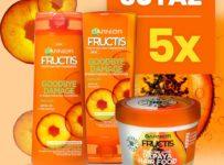 Súťaž o 5 balení obsahujúcich Fructis Goodbye Damage