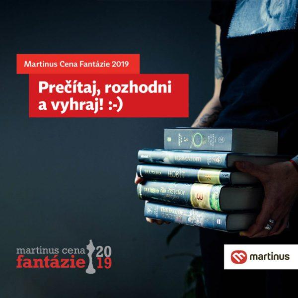 Súťaž o 50€ poukážku na nákup knižiek v Martinus.sk