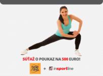 Súťaž o 500 EUR na nákup fitness a športového vybavenia od inSPORTline
