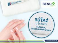 Súťaž o 5x FLEXITOL Cuticle and Nail Cream
