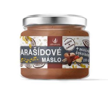 Súťaž o arašidové maslo s mliečnou čokoládou Allnature