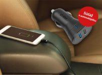Súťaž o autonabíjačku od SBS Mobile s dvomi USB výstupmi
