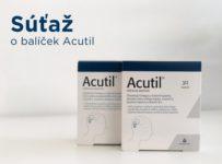 Súťaž o balíček produktov Acutil