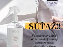 Súťaž o bytový sprej od talianskej značky Mr&Mrs