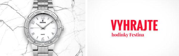 Súťaž o dámske hodinky Festina Trend 16703/1