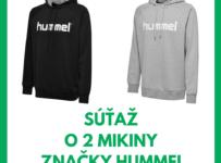 Súťaž o dve mikiny značky hummel