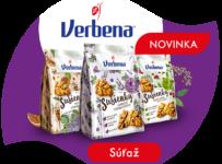 Súťaž o kartón chutnej novinky - Verbena Sušienok