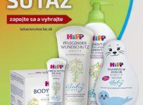 Súťaž o kozmetický balíček produktov HIPP