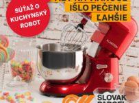 Súťaž o kuchynský robot značky KLARSTEIN