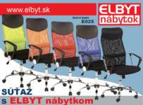 Súťaž o otočné kreslo E025 v piatich farbách