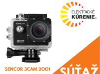 Súťaž o outdoorovú akčnú full HD kameru od Sencoru