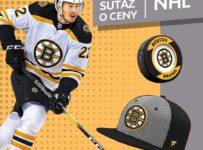 Súťaž o podpísanú šiltovku alebo puk hokejového tímu Boston Bruins