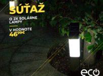Súťaž o solárne stĺpikové osvetlenie SolarCentre Kodiak