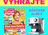 Súťaž o super kávovar v hodnote 80 €