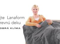 Súťaž o výhrevnú deku od spoločnosti Lanaform