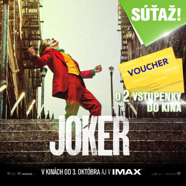 Vouchery do kina - Cinemax