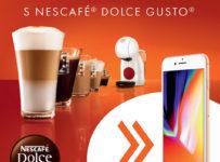 Súťažte s Nescafé Dolce Gusto o 2 x iPhone 8