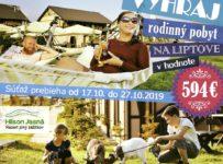 Veľká rodinná súťaž o pobyt na Halloween v hodnote 594 €