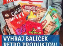 Vyhraj balíček Retro produktov