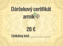 Vyhrajte 20 € na nákup do Armik.sk