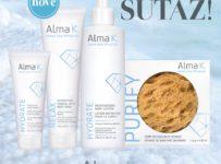 Vyhrajte balíček telovej starostlivosti ALMA K v hodnote 57 €