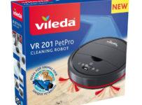 Vyhraj robotický vysávač Vileda VR201
