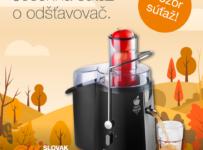 Jesenná súťaž o odšťavovač concept