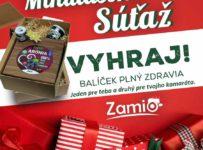 Mikulášska súťaž o 2 balíčky Zamio