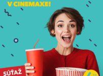 Súťaž o 2 voľné vstupenky do kín CINEMAX