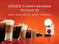 Súťaž o 30 kávovarov Piccolo XS