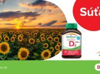 Súťaž o 3x Jamieson vitamín D3